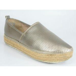 Steve Madden Choppur Metallic Espadrille Loafers